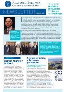 Cardiff Hub Newsletter Summer 2018