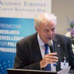 Professor Sierd Cloetingh, President Academia Europaea