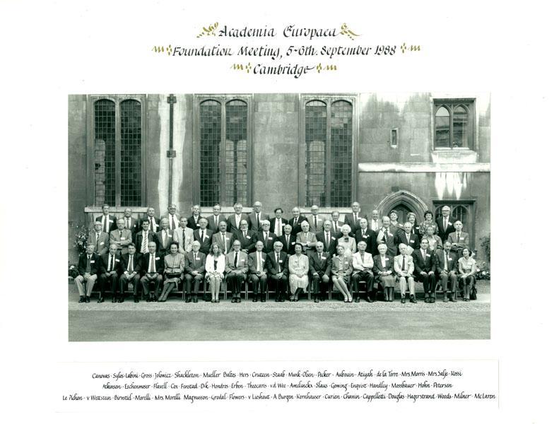 Academia Europaea Foundation Meeting, 1988