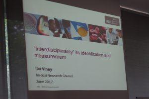 Presentation slide, Dr Ian Viney, MRC