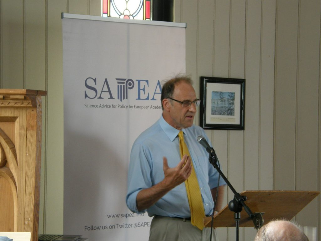 Professor John Hines, Cardiff University