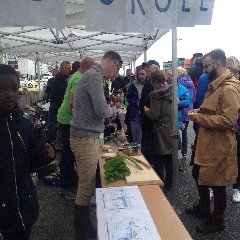 Slow food stall