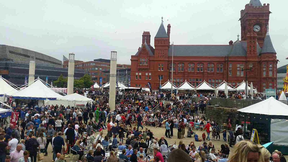 Cardiff food festivals attracts 80000 people
