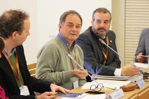 Professor Maarten Bavinck at the Science Business Roundable