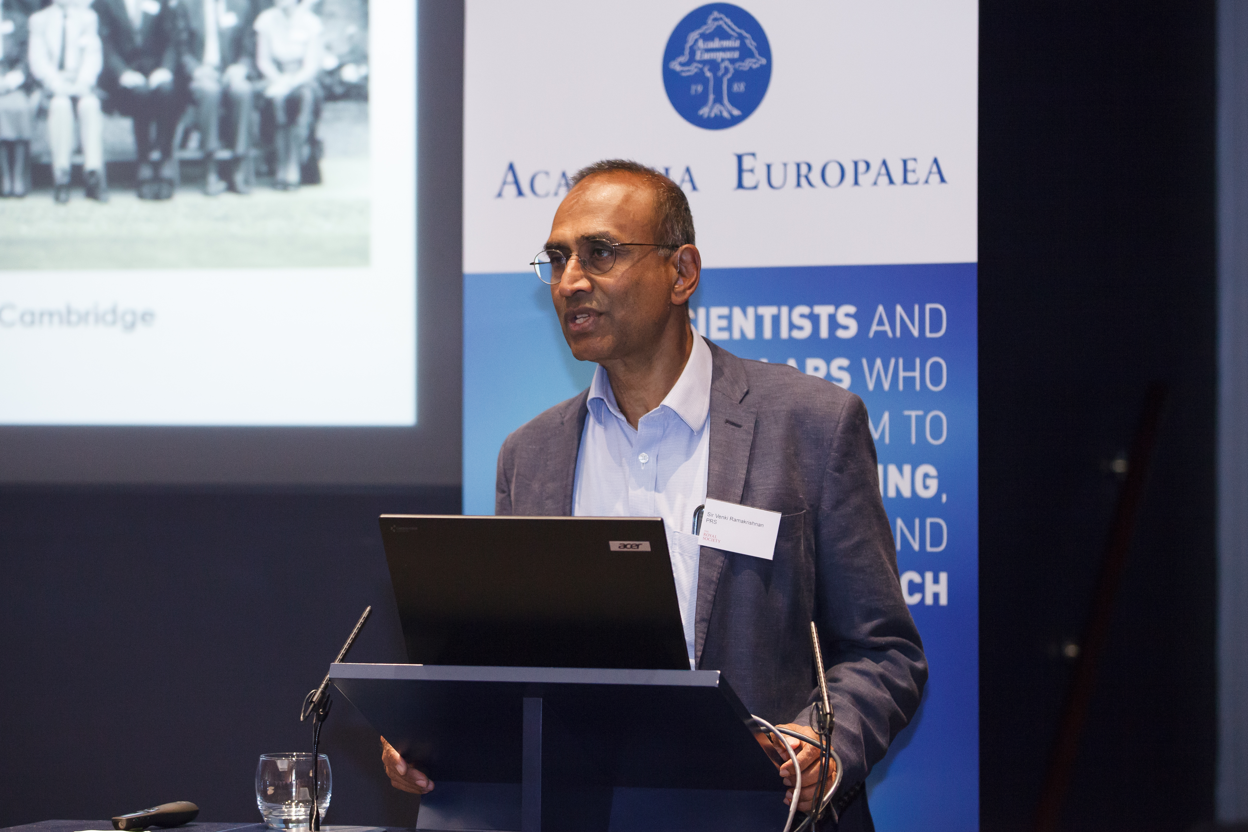 Sir Venki Ramakrishnan, President of the Royal Society