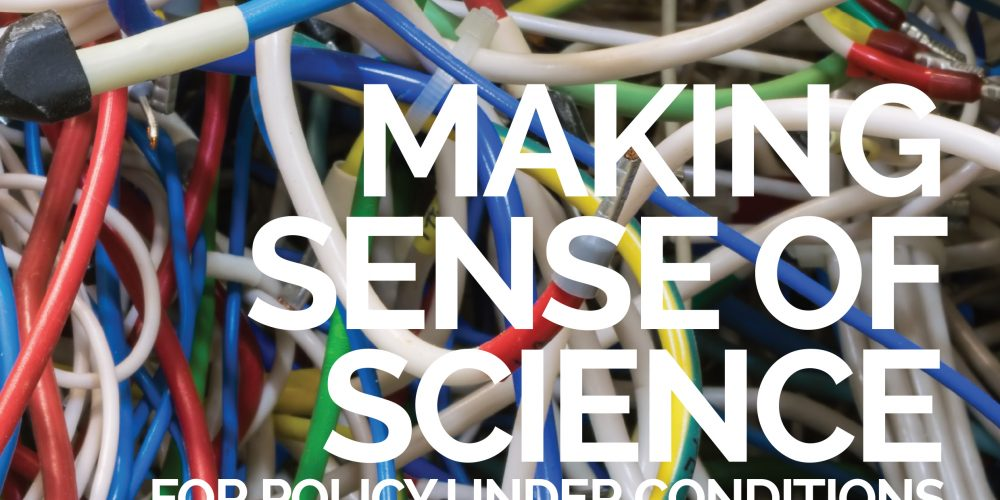 'Making Sense of Science' cover (detail)