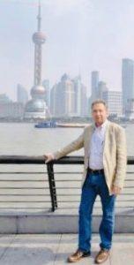 Professor D'haen in Shanghai