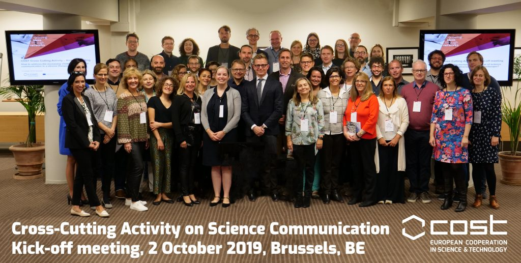 COST initiative on science communication