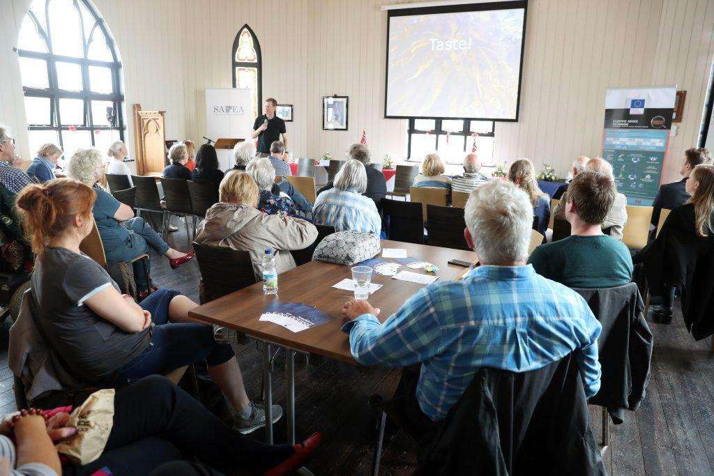 Dr Arne Duinker talks on seaweed as a food source