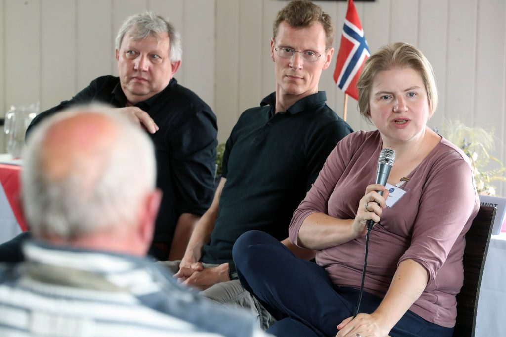 Panellists answer audience questions