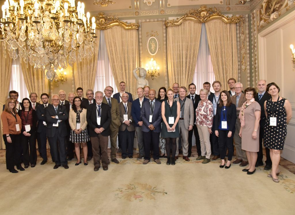Workshop participants at the Royal Academy of Engineering, Madrid, September 2017