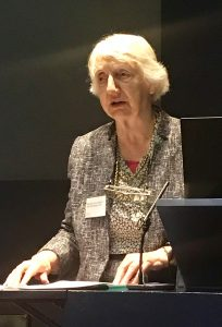 Baroness Onora O'Neill from the House of Lords presenting on trust in science