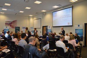 Prof John Tucker opens the event
