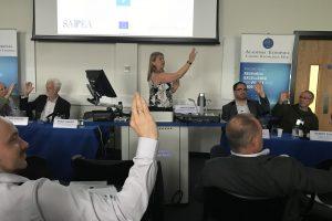 Wendy Sadler presenting