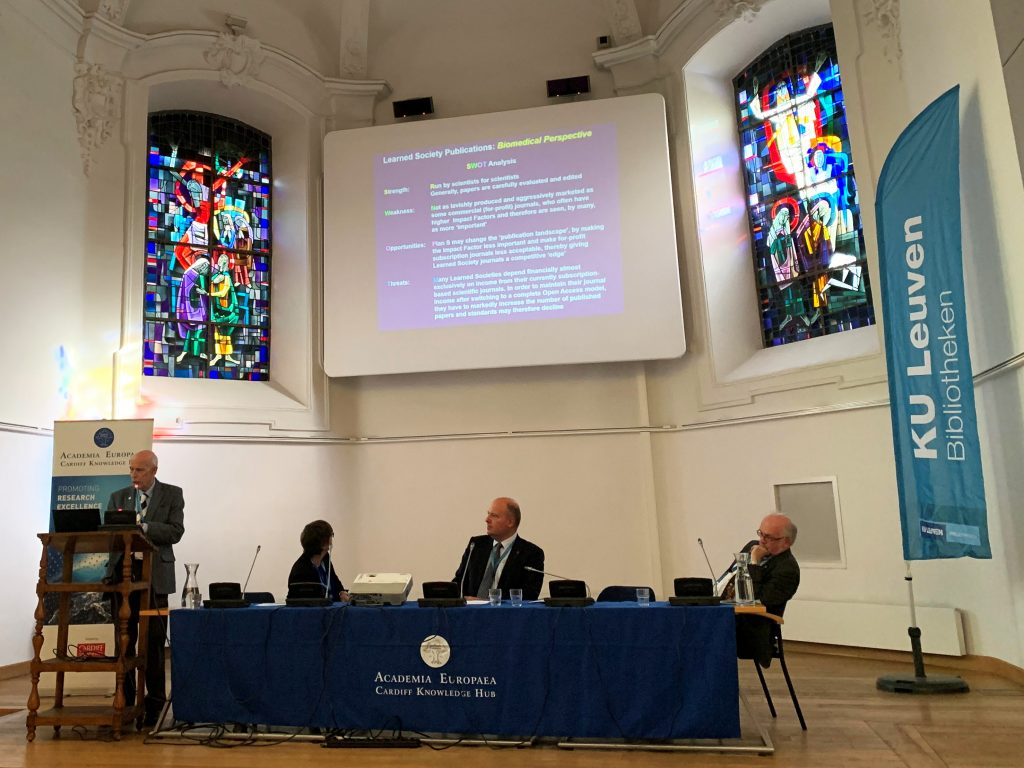 Panel 3: Impact of Plan S on learned societies and academies